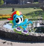 Ally in the Park by JimmyCartoonist