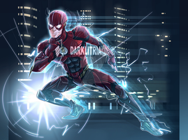 Justice League: The FLash by DarkLitria