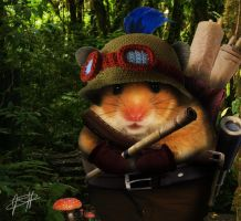 Real life Teemo by Jochi-Pochi