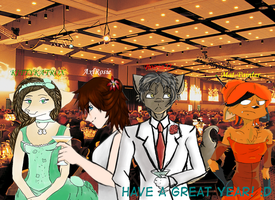 New Years Party Collab by Booya22