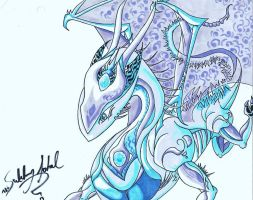 Ice Dragon by emporeranime