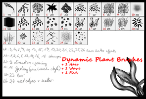 Dynamic Plant Brushes by Sitar-sama