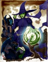 Adam Hughes - Wicked Witch by PylgrimX