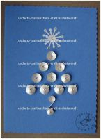 Quilling - X-Mas Card 4 by Eti-chan