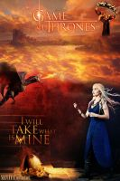 Game Of Thrones: I Will Take What Is Mine by silviya