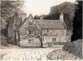 Keyston Cottage by Scribe1969