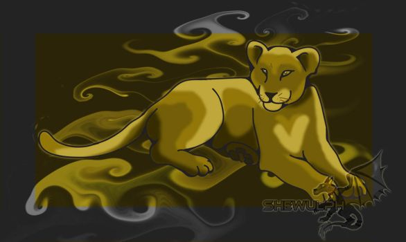 Lion cubby by SheWulph