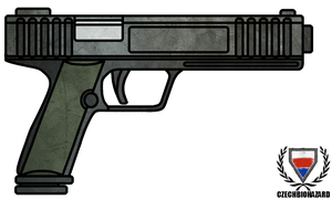 Fictional Firearm: HC-122c Pistol by CzechBiohazard