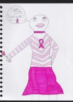 Breast Cancer Awareness Darla by RavynLaRue