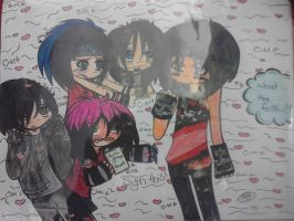 Ella and Friends-Nikki Sixx-Request :3 by CorpseRazorcutz