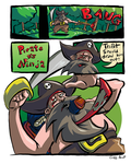 Pirate Vs. Ninja: The Answer by CraigArndt