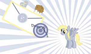 Derpy Hooves Wall by Evilarticfox