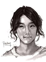 Speed Sketch Taeyeon by KoweRallen