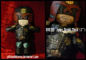 Dredd: Judge Dredd Plush [COMMISSION] by StitchedAlchemy