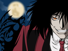 Alucard int the night- digital by Nemesis-Eris
