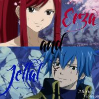 FT Erza and Jellal by Alliris-Violet98