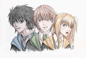 Harry Potter and Death Note by Juli556