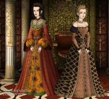 Tudor: Catherine and Diane by HC-IIIX