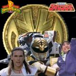 kiba ranger and white mighty morphin wall paper by fullfurian