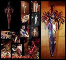 Soul Edge - Work in Progress Cosplay by Leon Chiro by LeonChiroCosplayArt