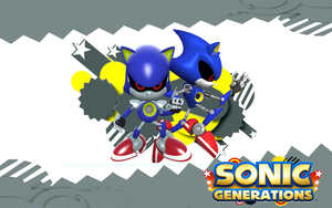 Sonic Generations-Metal Sonic Both by Nibroc-Rock