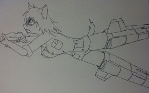 NEW Strike Witches OC. by Alden-the-Fox
