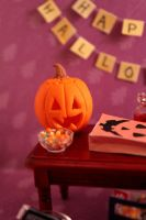 Miniature halloween pumpkin by EmisBakery