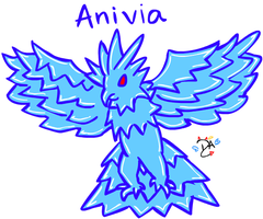 League Of Legends - Anivia by dcheeky-angel