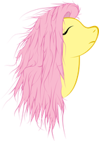 Fluttershy--hair(?) by aruigus808