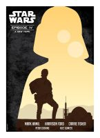 Star Wars Poster by taggraphics