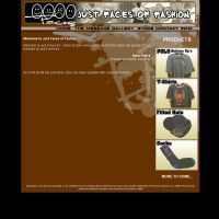 Just faces Website Layout by blaquejag