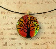 Fall Tree of Life Fused Glass by FusedElegance