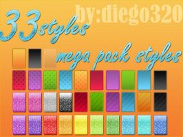 mega pack 33 styles by Diego320