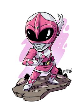 Pink Ranger by DerekLaufman