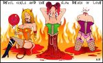 Devil Girls And The Slow Death Of Love by DarylHobsonArtwork
