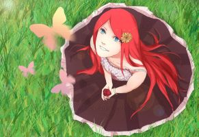 Uzumaki Kushina by Immature-Child02