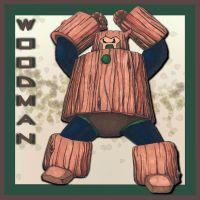 Wood Man by neen