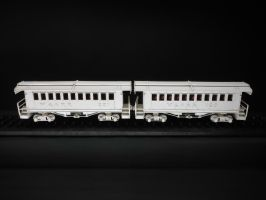 Master Ivory Carving of Coaches by SteamRailwayCompany