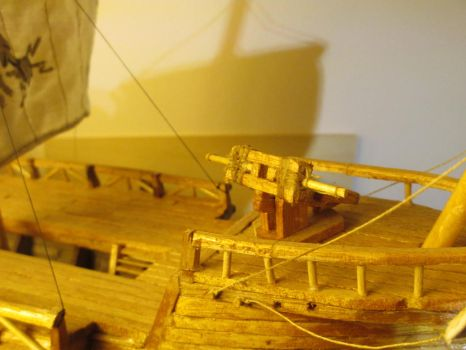 Galley detail-ballista by HevadeWe