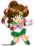 04. Sailor Jupiter by amethyst-rose