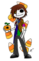 Candy Corn King by lockheart9