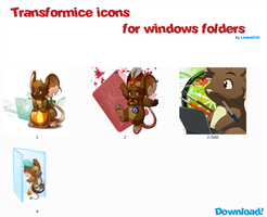 Transformice icons for windows folders DOWNLOAD! by Linana235