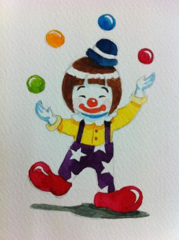 Clown's life by ngwinyi