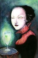 Absinthe mistress by neshad