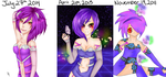 Pixel: 2011 to 2014 by scoutae
