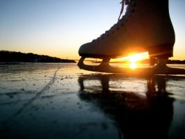 Skate on Ice by Linnkristin
