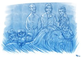 The Lannisters by kehchoonwee