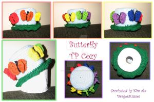 Butterfly TP Cozy by DragonKissses