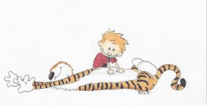 Calvin and Hobbes by Dailuge
