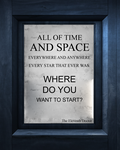 All of Time  and Space - The Eleventh Doctor by Doctor-Who-Quotes
